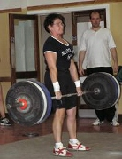 Agnes  McInally Thumbless  Deadlift