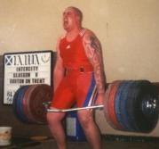 John  Gardner Trapbar  Deadlift