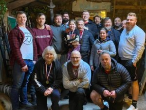 The Lifters and Officials at the 2020 British Grip Champs