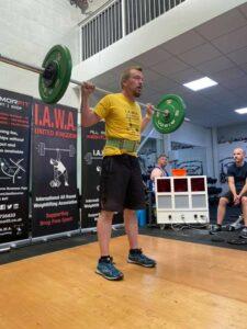 Paul Hallam - Clean & Press Behind Neck