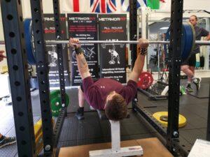 Sam Bonar - Alternate Grip Bench Press
