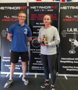 Beata Banas - Best Female Lifter and Overall Champion